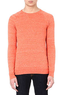 DENHAM Crew-neck long-sleeved t-shirt