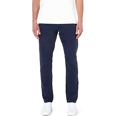 DENHAM Ape loose-fit tapered jeans (Navy