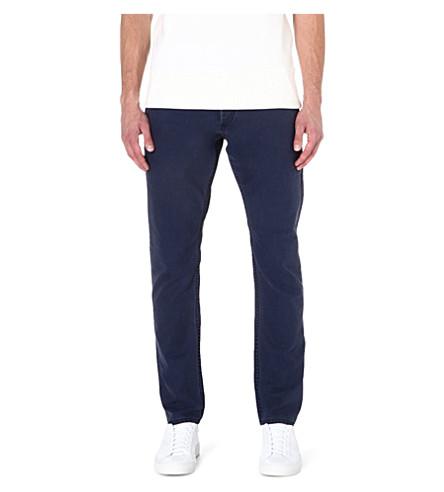 DENHAM Ape loose-fit tapered jeans (Navy