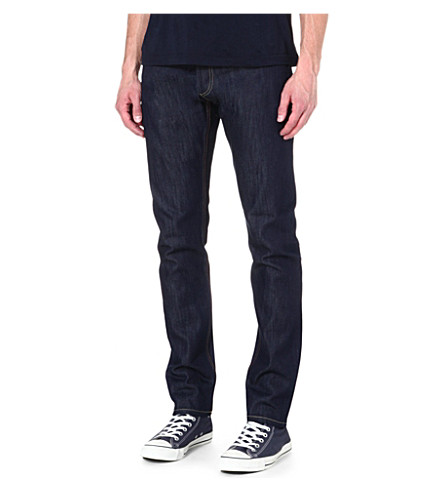 DENHAM Razor slim-fit tapered jeans (Blue