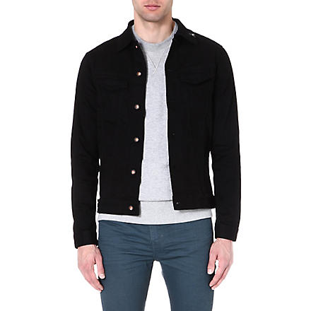 DENHAM Denim jacket (Black