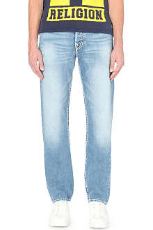 TRUE RELIGION Jack super T regular-fit straight jeans