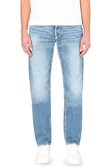 TRUE RELIGION Geno super-T conductor straight-leg jeans