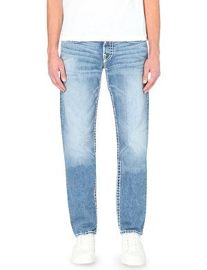 TRUE RELIGION Geno super-T conductor straight-leg jeans