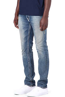 TRUE RELIGION Rocco Super T slim-fit tapered jeans