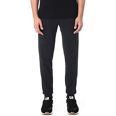 TRUE RELIGION Fleece jogging bottoms (Black