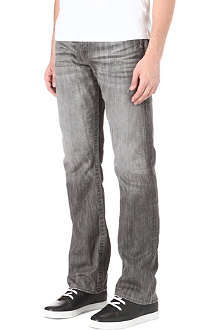 TRUE RELIGION Ricky Engineered Super T regular-fit straight jeans