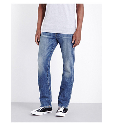 TRUE RELIGION Ricky relaxed-fit straight-leg jeans (Indigo