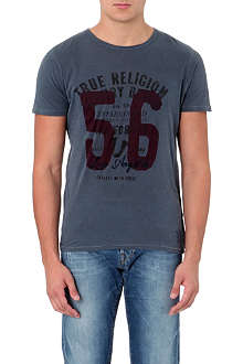 TRUE RELIGION 56 crew-neck cotton-jersey t-shirt