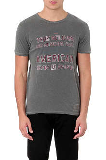 TRUE RELIGION American crew-neck cotton-jersey t-shirt