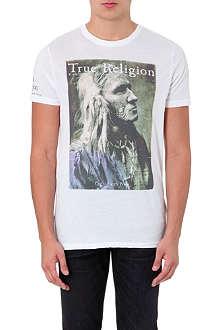 TRUE RELIGION Native American cotton t-shirt
