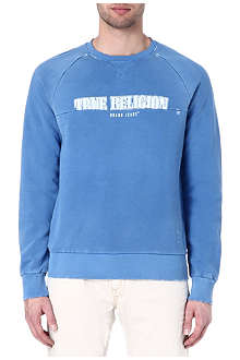 TRUE RELIGION Logo sweatshirt