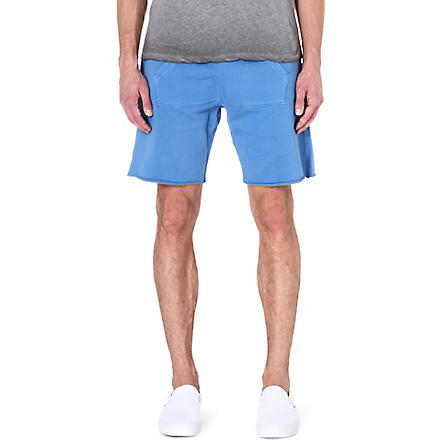 TRUE RELIGION True circle sweat shorts (Blue