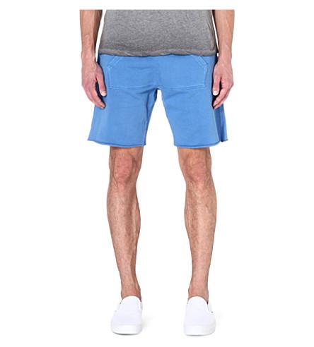 TRUE RELIGION True circle sweat shorts (Blue