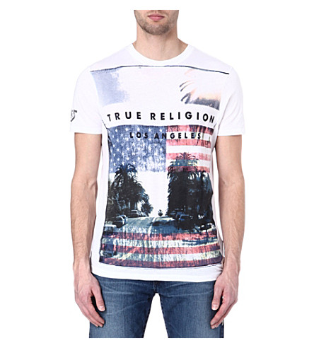 TRUE RELIGION California t-shirt (White