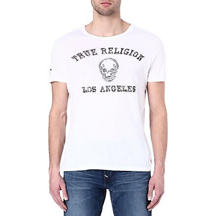 TRUE RELIGION Los Angeles t-shirt (White