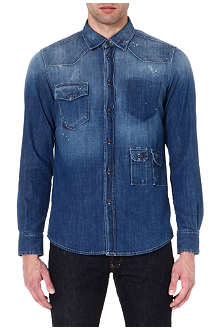 TRUE RELIGION Denim Frank shirt