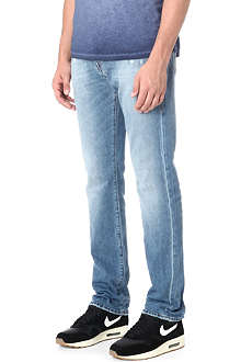 TRUE RELIGION Geno slim-fit straight jeans