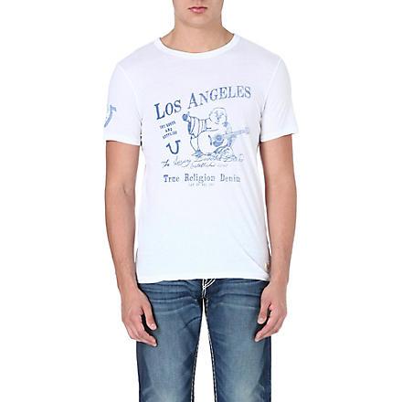 TRUE RELIGION Buddha t-shirt (White