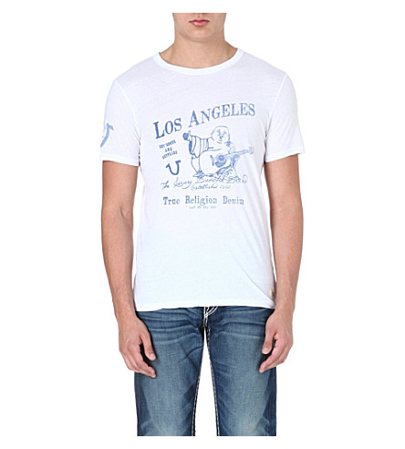 TRUE RELIGION Buddha t-shirt (White