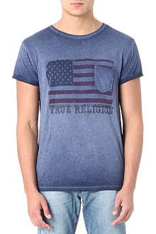TRUE RELIGION American Flag t-shirt