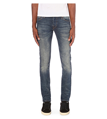 TRUE RELIGION Tony slim-fit skinny jeans (Dusty+rider