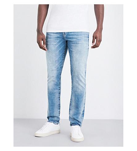 TRUE RELIGION Desert slim-fit straight jeans (Desert+well