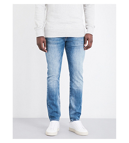 TRUE RELIGION Rocco slim-fit skinny jeans (Denim+lapis