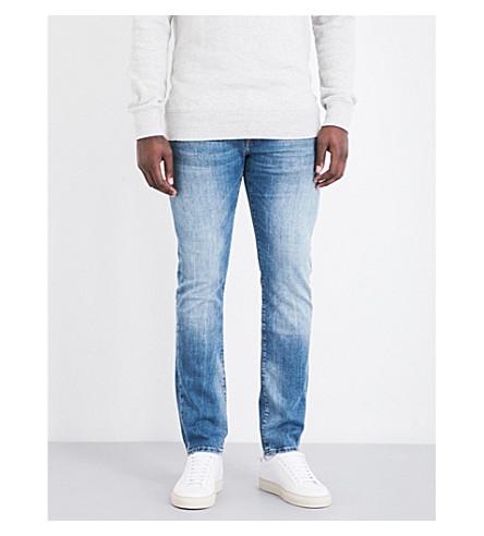 TRUE RELIGION Rocco slim-fit skinny jeans (Denim+lapis
