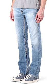 TRUE RELIGION Logan Super T regular-fit straight jeans