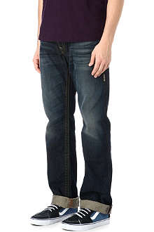TRUE RELIGION Ricky Super T regular-fit straight jeans