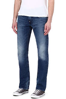TRUE RELIGION Ricky regular-fit straight leg jeans