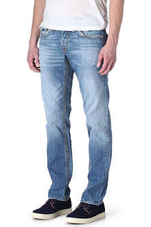 TRUE RELIGION Jack Mid Drifter slim-fit straight jeans