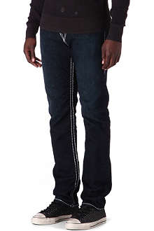 TRUE RELIGION Geno Super-T slim-fit straight jeans