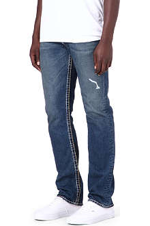TRUE RELIGION Geno Super-T regular-fit straight jeans
