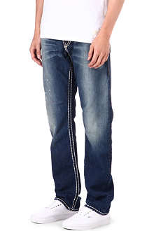 TRUE RELIGION Geno super-t regular-fit jeans
