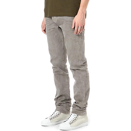 TRUE RELIGION Rocco slim-fit tapered jeans (Cement