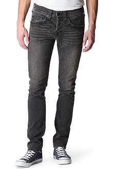 TRUE RELIGION Rocco skinny-fit tapered jeans