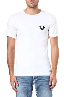TRUE RELIGION Traditional logo crew-neck t-shirt