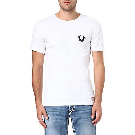 TRUE RELIGION Traditional logo crew-neck t-shirt (White