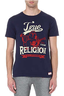 TRUE RELIGION Buddha branded t-shirt