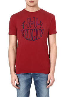 TRUE RELIGION Circle logo t-shirt