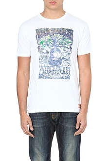 TRUE RELIGION Vintage poster t-shirt