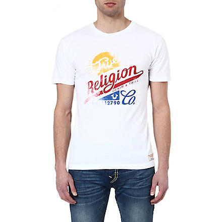 TRUE RELIGION True Flight t-shirt (White