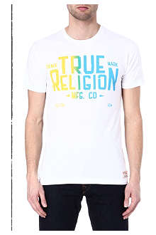 TRUE RELIGION Blue Collar t-shirt