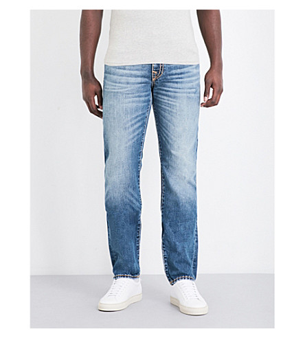 TRUE RELIGION Geno slim-fit straight jeans (Vintage+glory