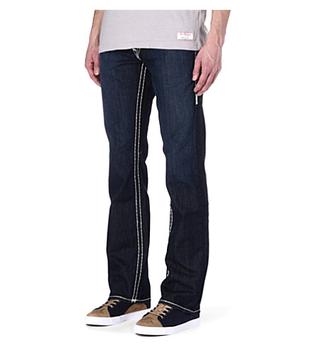 TRUE RELIGION Ricky straight army super T jeans (Lonestar