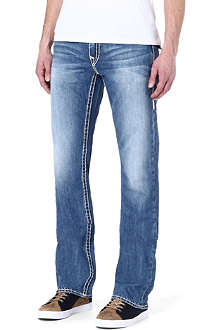 TRUE RELIGION Ricky super t straight leg jeans