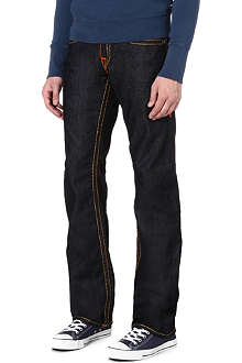 TRUE RELIGION Super T regular-fit straight jeans