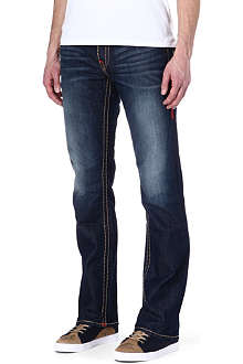TRUE RELIGION Ricky super t straight cut jeans
